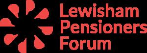 Lewisham Pensioners Forum red logo