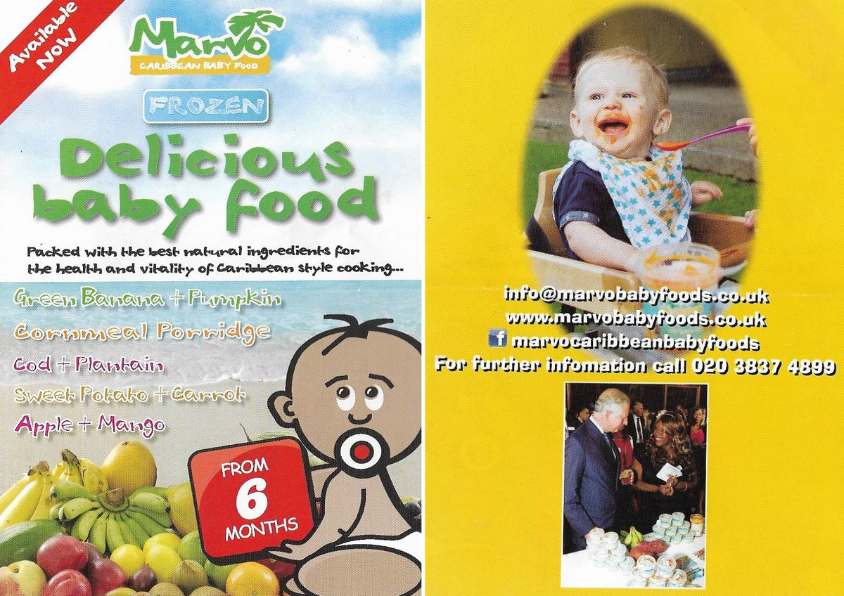 Marvo_Baby food
