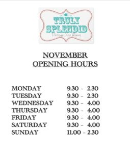 truly-splendid-november-opening-hours