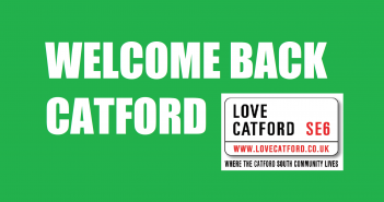 Welcome Back Catford